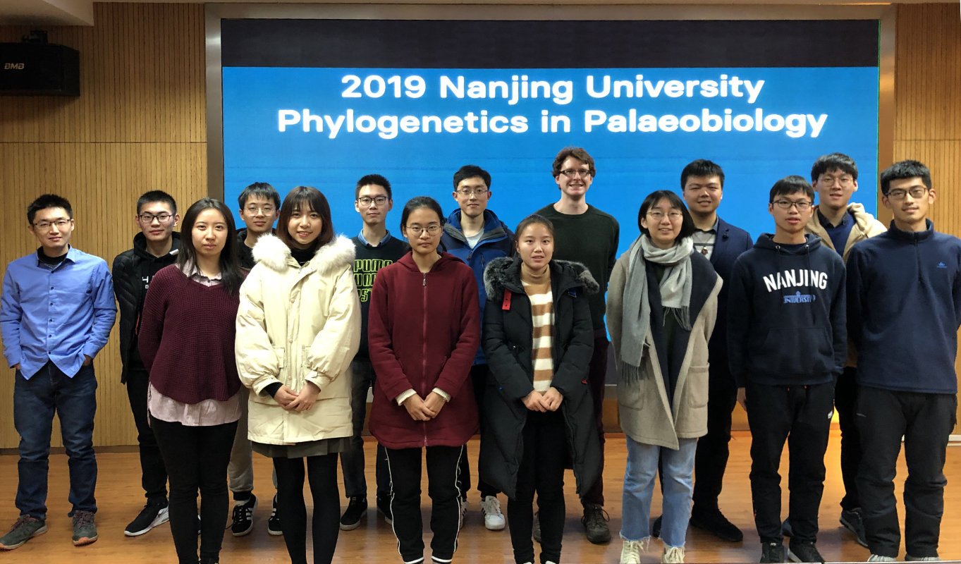 Class of 2019 Phylogenetics in Palaeobiology workshop